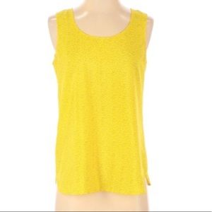LOFT polyester sleeveless blouse top size XS